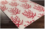 Surya Somerset Bay Escape ESP-3114 Beige/Cherry Closeout Area Rug - Spring 2015