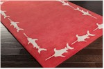 Surya Somerset Bay Escape ESP-3119 Cherry/Light Grey Closeout Area Rug - Spring 2015