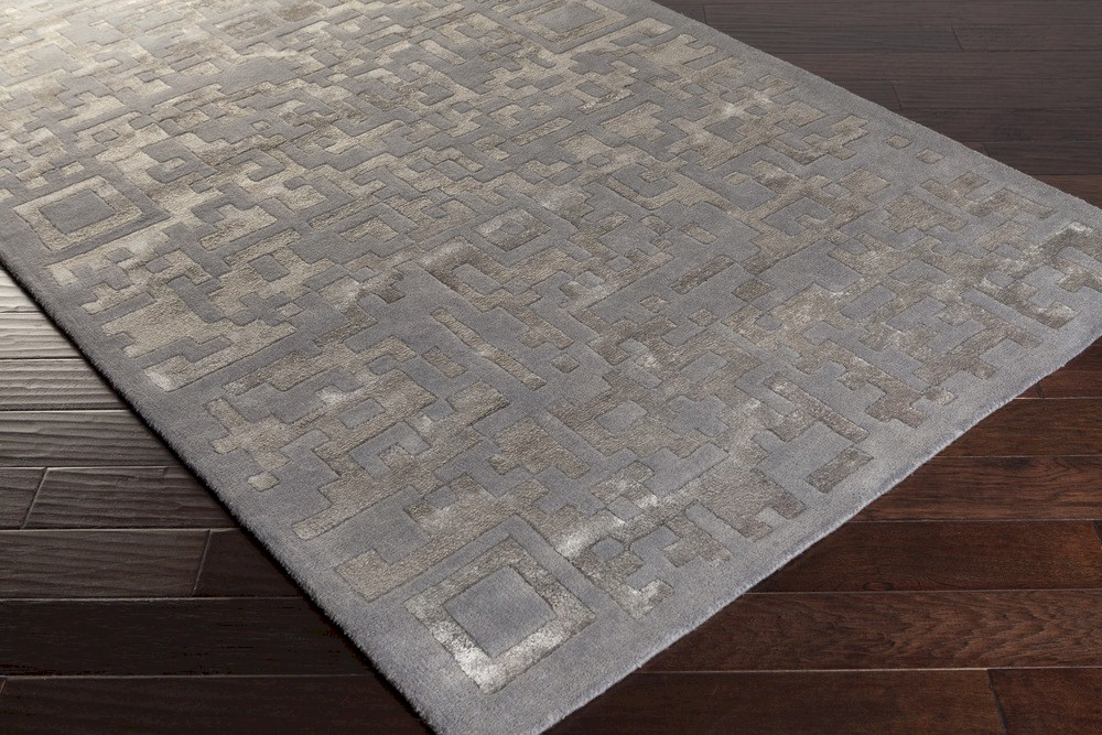 Surya Essence Ess 7690 Light Grey Mauve Area Rug