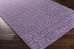 Surya Etching ETC-4990 Violet Closeout Area Rug