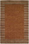 HRI European 1232 Brown Closeout Area Rug