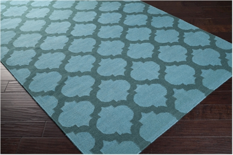 Surya Frontier Ft 123 Sea Blue Teal Green Area Rug