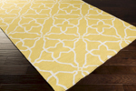 Surya Frontier FT-232 Sunshine Yellow/White Closeout Area Rug - Spring 2015