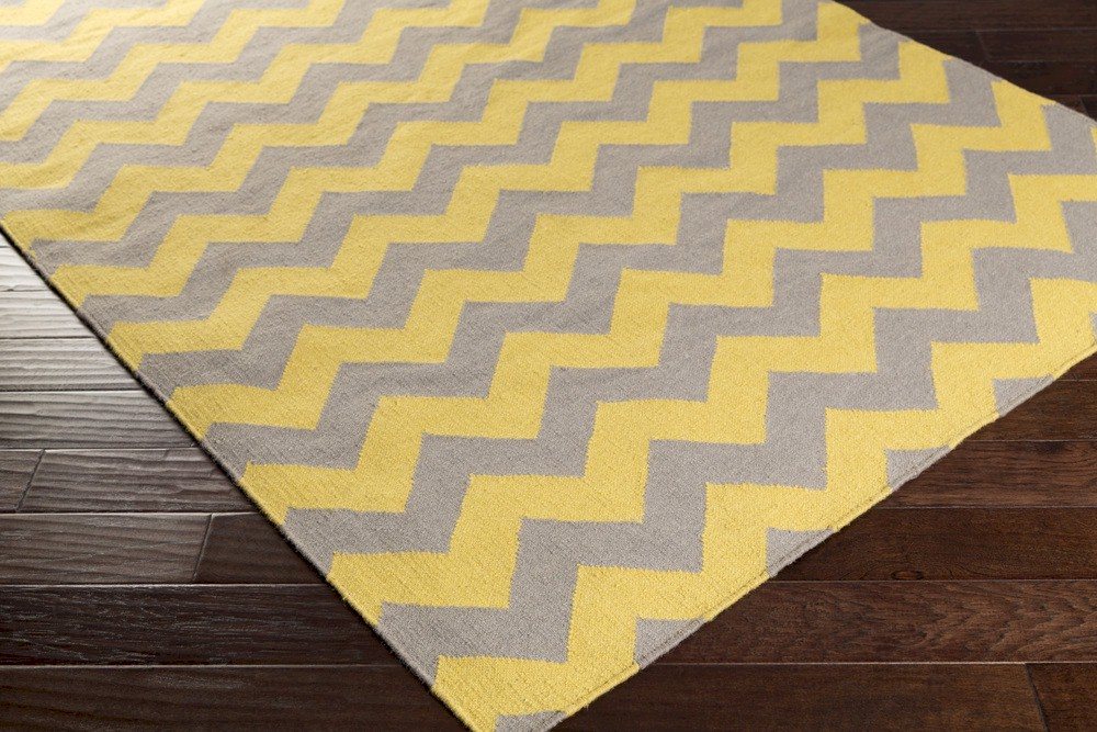 Surya Frontier Ft 290 Citrine Brindle Closeout Area Rug