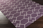 Surya Frontier FT-460 Eggplant/Beige Closeout Area Rug - Fall 2014