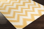 Surya Frontier FT-518 Gold/Ivory Closeout Area Rug - Spring 2015
