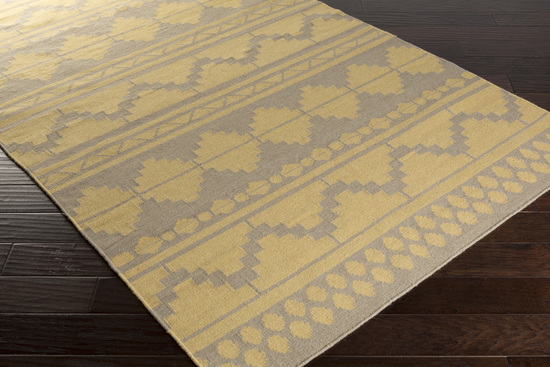 Surya Frontier Ft 550 Gold Taupe Closeout Area Rug