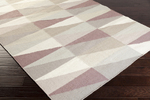 Surya Frontier FT-557 Mauve/Ivory/Grey Closeout Area Rug - Spring 2015