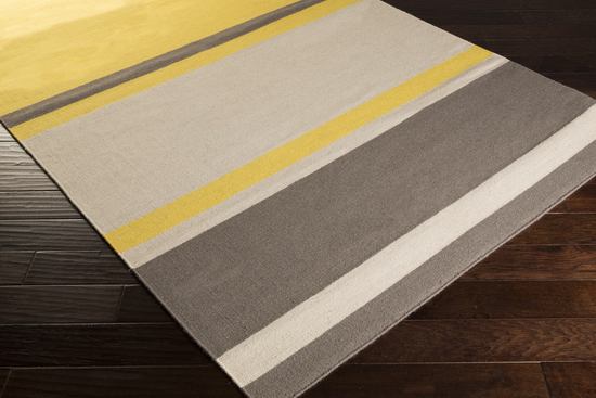 Surya Frontier Ft 569 Gold Grey Charcoal Closeout Area Rug