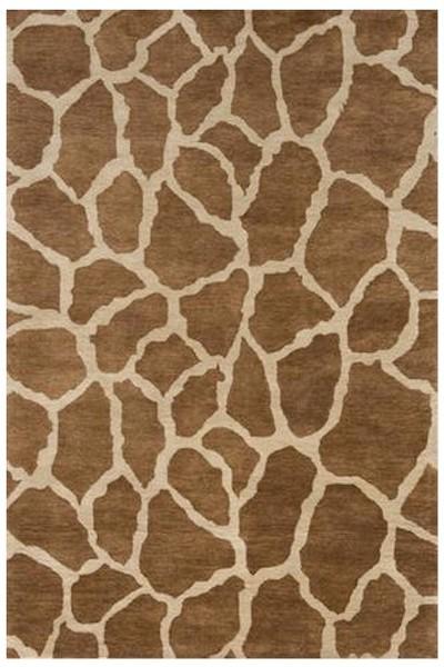 Designer Series Ds1615 Giraffe Print Closeout Rug