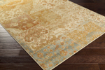 Surya Hathaway HAT-3011 Gold/Rust/Charcoal/Beige/Olive Area Rug