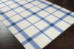 Surya Country Living Happy Cottage HC-5801 White/Periwinkle/Dark Blue Closeout Area Rug - Fall 2013