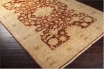 Surya Hillcrest HIL-9005 Gold/Biscotti/Maroon Closeout Area Rug - Spring 2014