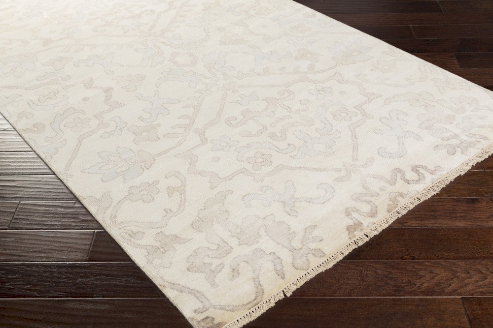 Surya Hillcrest Hil 9040 Taupe Light Grey Taupe Area Rug