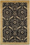 HRI Serenity HP-196 Black Closeout Area Rug
