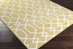 Surya Horizon HRZ-1050 Mustard/Cream Closeout Area Rug - Fall 2015