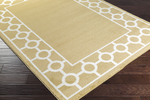 Surya Horizon HRZ-1064 Mustard/Cream Closeout Area Rug - Fall 2015