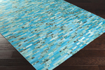 Surya Houseman HSM-4000 Aqua/Mint/Dark Forest Closeout Area Rug - Fall 2015