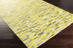 Surya Houseman HSM-4001 Lemon/Taupe/Lime Closeout Area Rug - Fall 2015