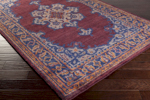 Surya Haven HVN-1221 Mauve/Cobalt/Rust Closeout Area Rug - Fall 2015
