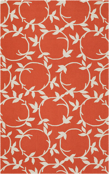 Surya Country Living Inspired Classics Ins 8013 Coral Ivory