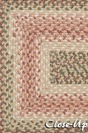 Surya Country Living Jamestown JAM-4302 Caramel/Dark Salmon/Avocado Closeout Area Rug - Spring 2013