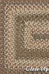 Surya Country Living Jamestown JAM-4306 Praline/Coffee Bean/Sage Green Area Rug