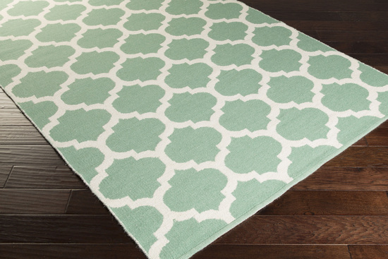 Surya Juniper Jnp 5039 Sea Foam Ivory Closeout Area Rug