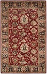 HRI Romance Collection KC-287 Red Closeout Area Rug