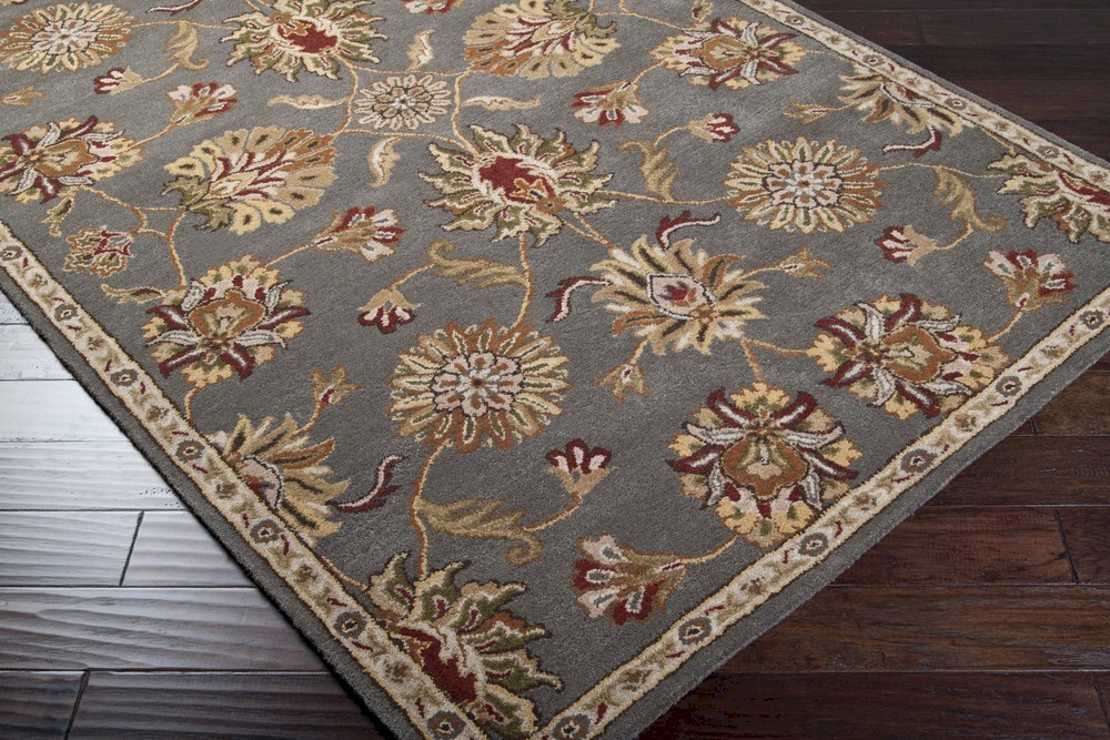 Surya Kensington Ken 1013 Grey Gold Area Rug