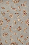 Surya Langley LAG-1018 Elephant Grey/Papyrus/Red Clay Closeout Area Rug - Fall 2014