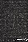 Surya Country Living Liberty LIB-4400 Dove Grey/Coal Black Closeout Area Rug