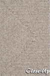 Surya Country Living Liberty LIB-4404 Oyster Grey/Mushroom Closeout Area Rug