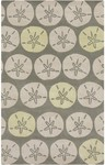Surya Lighthouse LTH-7014 Slate Grey/Parchment/Pale Chartreuse Closeout Area Rug - Spring 2015