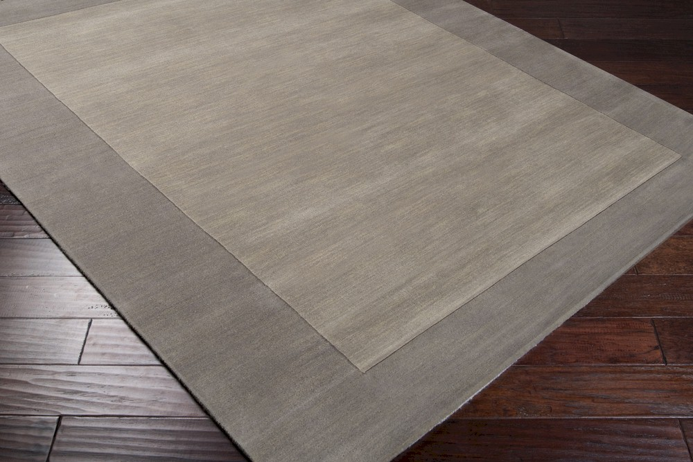 surya mystique m-312 elephant grey area rug