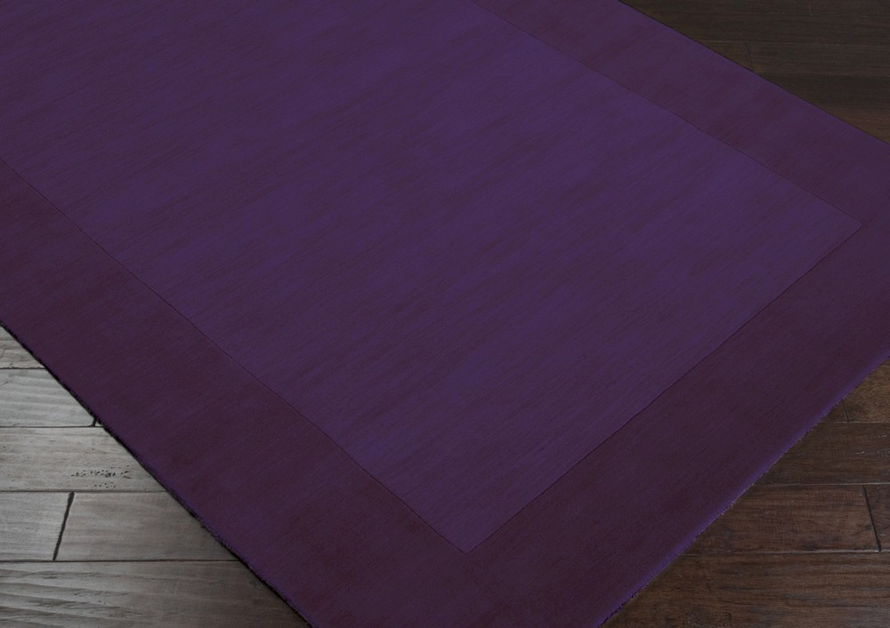 Dark Purple Area Rug Home Decor
