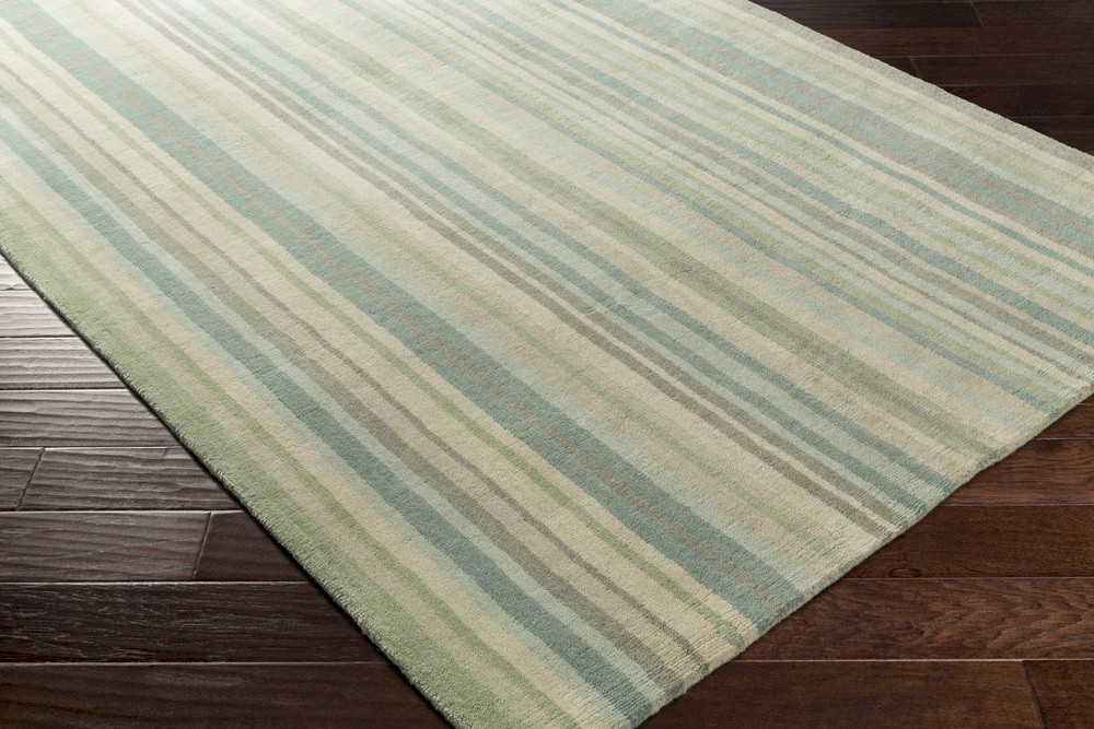 Surya Mystique M 5409 Sea Foam Moss Closeout Area Rug