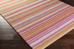 Surya Mystique M-5418 Hot Pink/Beige/Burnt Orange Closeout Area Rug