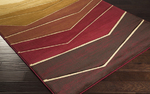 Surya Majestic MAJ-1030 Burgundy/Rust/Moss Closeout Area Rug - Spring 2015