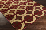 Surya Majestic MAJ-1031 Burgundy/Gold/Rust Closeout Area Rug - Spring 2015