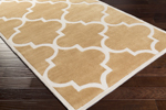 Surya Mamba MBA-9065 Burnt Orange/Ivory Area Rug
