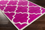Surya Mamba MBA-9069 Hot Pink/Light Grey Area Rug