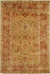 HRI Mahal MJ-15 Gold/Rust Area Rug