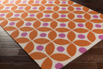 Surya Miranda MRA-1002 Burnt Orange/Magenta/Ivory Area Rug