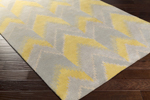 Surya Florence Broadhurst Mount Perry MTP-1030 Gold/Grey/Beige Closeout Area Rug - Spring 2016
