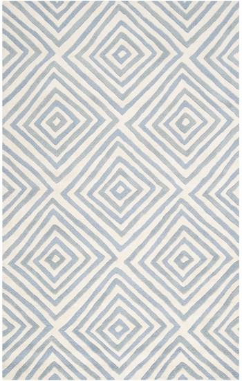Surya Naya Ny 5215 White Slate Blue Closeout Area Rug