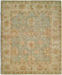 HRI Peshawar P-6 Light Blue/Ivory Area Rug