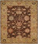HRI Peshawar P-5 Brown/Gold Area Rug