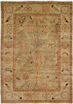 HRI Peshawar P-6 Light Green/Ivory Area Rug