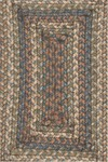 Surya Country Living Provincial PRO-4012 Brown Sugar/Cinnamon Spice/Midnight Blue Closeout Area Rug - Spring 2013